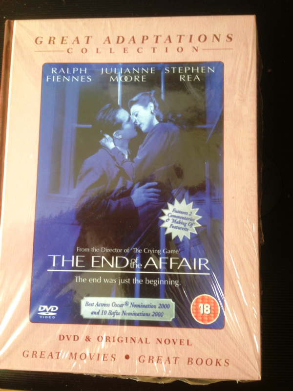 GREAT ADAPTATIONS COLLECTION - THE END OF THE AFFAIR - DVD AND ORIGINAL NOVEL 2007 (NEW N SEALED